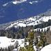Auf dem Plateau unterhalb Chastler der Weiler Finnu.