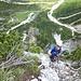 Ausstieg des Siega-Klettersteigs