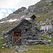 La cascina dell'Alpe Fiorasca trasformata in Rifugio