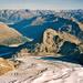 Tiefblick vom Palü auf den Persgletscher