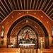 das beeindruckende Innere der Kappelle Sodberg