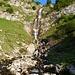 Wasserfall unterhalb der Landsberger Hütte
