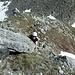 Steiler Aufstieg von der Sunnig Lücke über Südflanke/Südostgrat zum Blauberg.