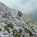 Beim Abstieg gelangen wir zwar bald unter die Nebeldecke, aber ...