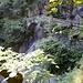 Il ponte sotto il quale passava l' acqua della cascata del Soladino