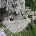 il Sentiero degli Alpini sul versante italiano del Toraggio