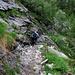 im Abstieg hinunter rnach Broglio