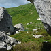 Das Bouldergebiet von Partnun