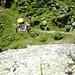 Picknickatmosphäre rund um die Felsen