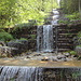Verbauter Wasserfall