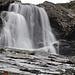 Wasserfall neben der Tjäktja Stuga