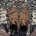 Schuhwechsel II: ...zurück in die herrlich leichten Schuhe :-)