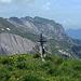 Ziel erreicht. Das Gipfelbüchlein hat verhältnismässig wenige Einträge finde ich, der Berg hätte mehr verdient.