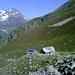 Die Rüsselsheimer Hütte liegt auf eienm Aussichtsbalkon gegenüber dem Kaunergrat.