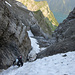 Steiler Aufstieg über dem Klöntaler See
