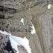 Noch ein Würmer-Detail Wir steigen die Schneezunge neben den chrumme Würm rechts im Bild ab