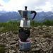 Eine der wohlverdienten Kaffeepausen