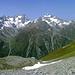 Bergsteigerherz - was willst du mehr. Die Rüsselsheimer Hütte liegt einer top Aussichtslage gegenüber dem abwechslungsreichen Kaunergrat.