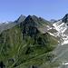Über das Kapunziner Joch führt der Rüsselsheimer Weg hinüber auf die Ötztaler Seite.