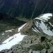 Inzwischen schon 1400m tiefer - der Talgrund des Ötztales.