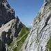 Sattel zwischen nördlichem Karwendelkopf und Kreuzwand