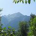 Blick nach Süden von Bludenz aus