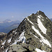 Piz Grisch von Westen (vom P. 3022), die letzten aussichtsreichen Meter zum Gipfel