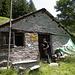 Il ricovero-bivacco dell'Alp de Comun