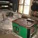Küche in einer Sennhütte, Baujahr anno dazumal
