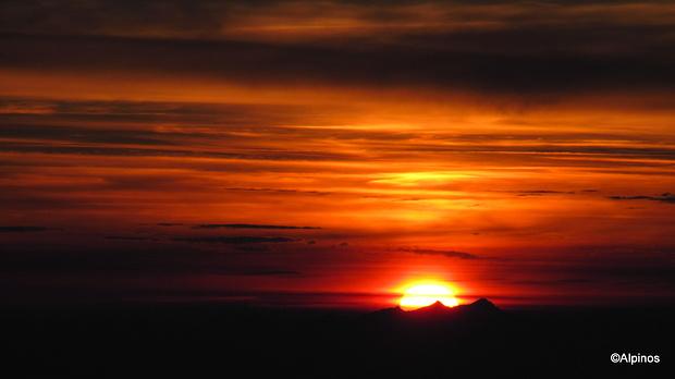 Sonnenaufgang auf der Roccia Nera III