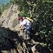 Kleine Klettereinlagen am Karlsruher Grat