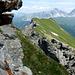 Schiefrige Sache: der Alosgrat mit den Bergüner Stöcken im Hintergrund