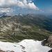 Blick vom Gipfel nach Norden inkl. Bergstation der Bahn