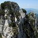 Bizarre Felszacken - schaut ein bisserl verwegen aus, und doch ist's nicht schwierig