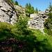 Treppenanlage am alten Weg zur Alpe Ribia