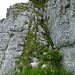 Unter dem Turm: 3. Kamin durch den 1. Felsgürtel