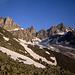 Üssers Barrhorn und Stellihorn, fotografiert von der Topalihütte.