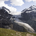 Der Turtmanngletscher von der Turtmannhütte (2519m).