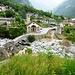 Rovana - der Fluss bringt immer noch wenig Wasser, auch der kleine Ri della Valte