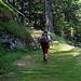 der schöne Weg auf Vallon du Van
