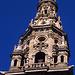 Navarrete - Santo Domingo de la Calzada, 24. Juli: Turm der Kathedrale von Santo Domingo.