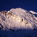Blüemlisalp-Morgenhorn (3623m) bei Sonnenaufgang von der Gspaltenhornhütte.
