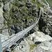 Il famoso ponte sospeso Triftbrucke