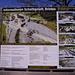 Cartello illustrativo della piena agosto 2005 a Tal