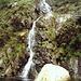 Cascata presso La Buia.