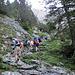 auf dem Weg zur Engelhornhütte