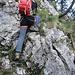 danach folgt eine kleine Felsstufe