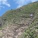 im Abstieg Richtung Rengglipass