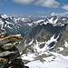 Gipfelblick in Richtung Sustenpass und Berner Alpen