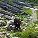 erneuter Aufstieg zum Altmannsattel
